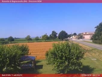 Webcam Rossetta di Bagnacavallo