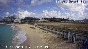 Webcam Philipsburg, Sint Maarten