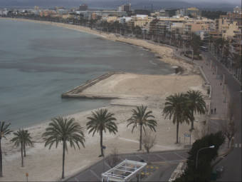 Webcam S'Arenal (Majorca)