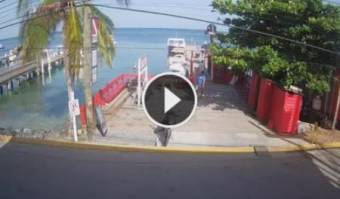 Webcam West End (Roatán)