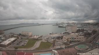 Webcam Heraklion (Crete)