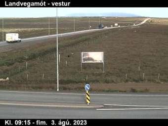Webcam Landvegamót