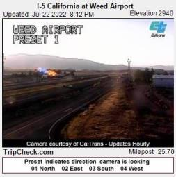 Webcam Weed, California