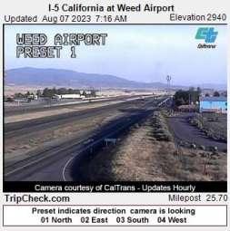 Webcam Weed, California