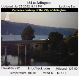 Webcam Arlington, Oregon
