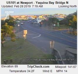 Webcam Newport, Oregon