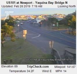 Webcam Newport, Oregon