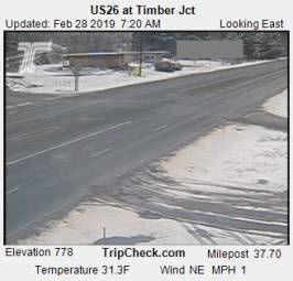 Webcam Timber, Oregon