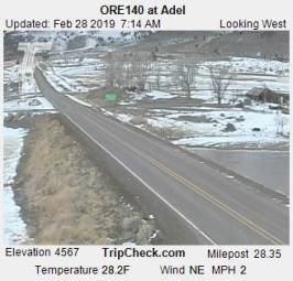 Webcam Adel, Oregon