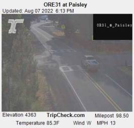 Webcam Paisley, Oregon