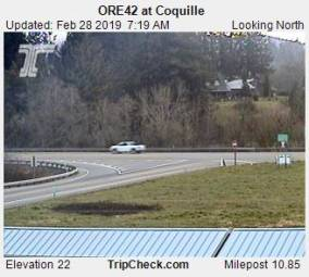 Webcam Coquille, Oregon