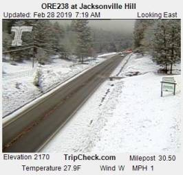 Webcam Jacksonville, Oregon
