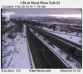Webcam Hood River, Oregon
