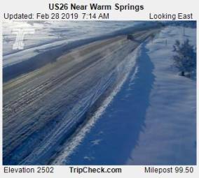 Webcam Warm Springs, Oregon