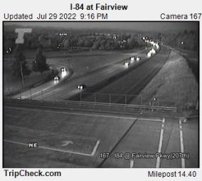 Webcam Fairview, Oregon