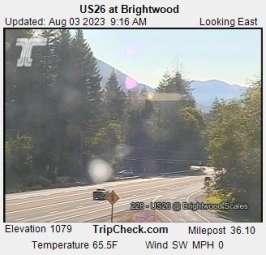 Webcam Brightwood, Oregon