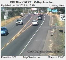 Webcam Valley Junction, Oregon