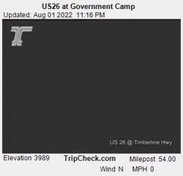 Webcam Government Camp, Oregon