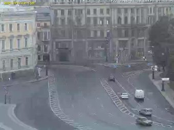 Saint-Petersburg Live Cam, Russia – Palace Square