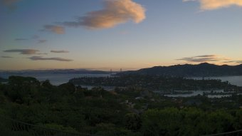 Webcam Tiburon, California