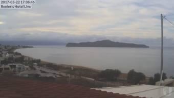 Webcam Stalos (Crete)