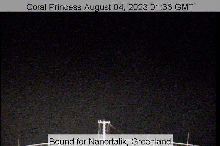 Live Webcam Coral Princess Live From The Bridge