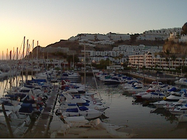 Live webcam puerto rico gran canaria port of puerto rico - Living in gran canaria ...