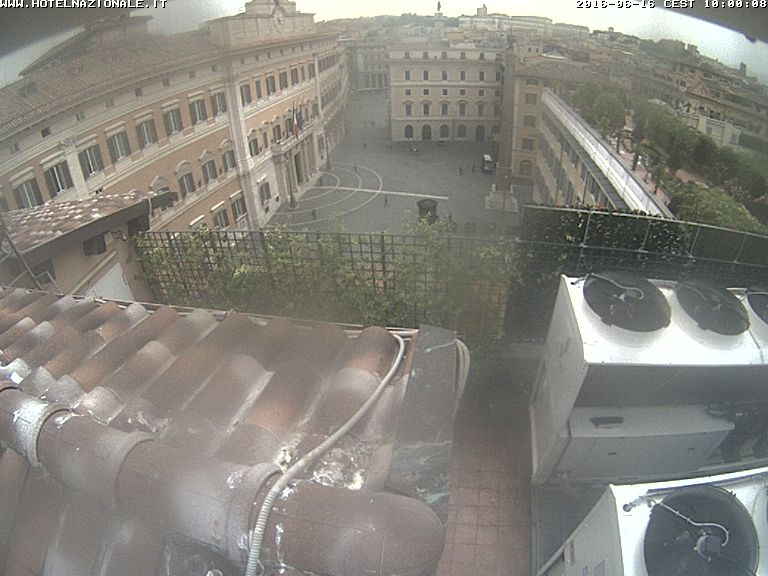 webcam rome piazza montecitorio