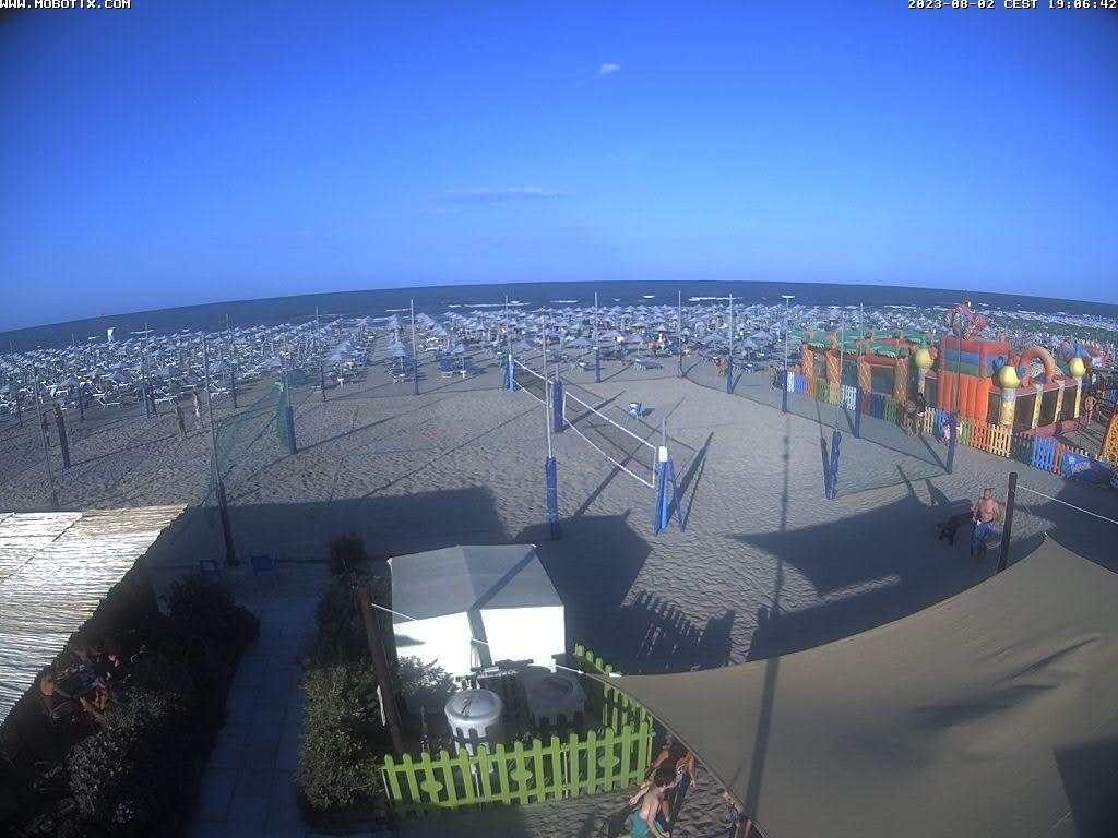 Webcam Cervia: Beach Panorama