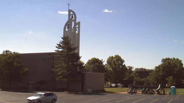 webcam cincinnati  ohio  saint vincent ferrer school