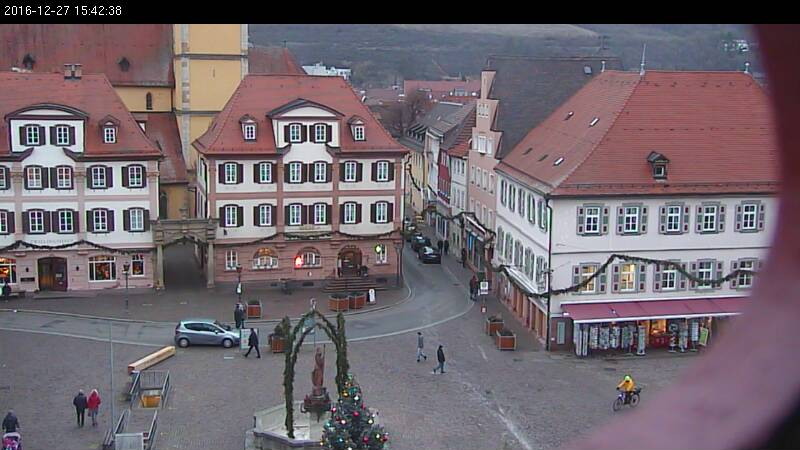 bad mergentheim marktplatz von bad mergentheim webcam galore. Black Bedroom Furniture Sets. Home Design Ideas