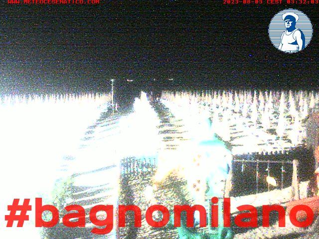 Webcam Cesenatico: Webcam Bagno Milano