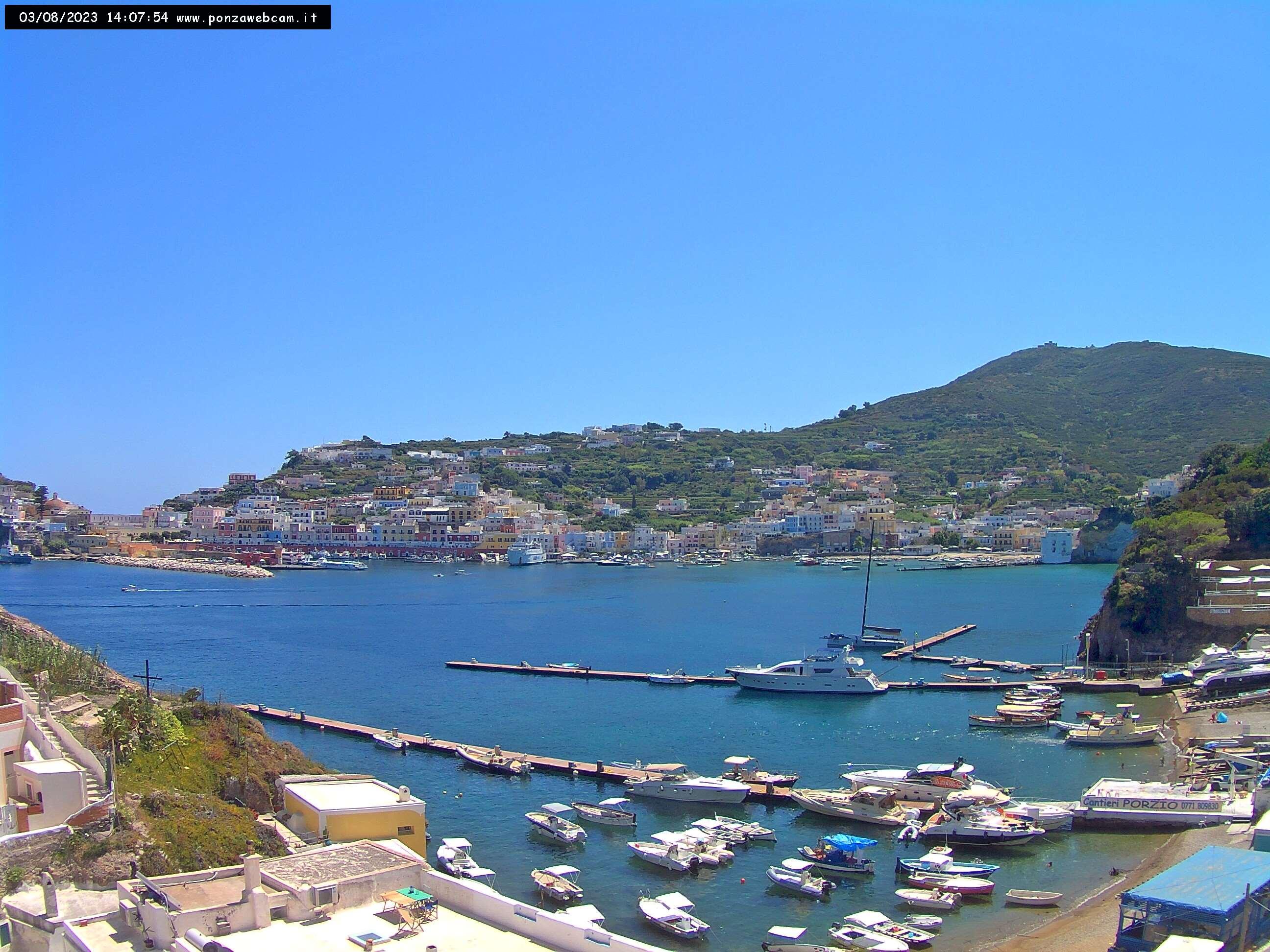 Webcam Ponza, Santa Maria - Ponza Webcam