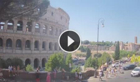 Webcam Roma, Colosseo - Skyline Webcams