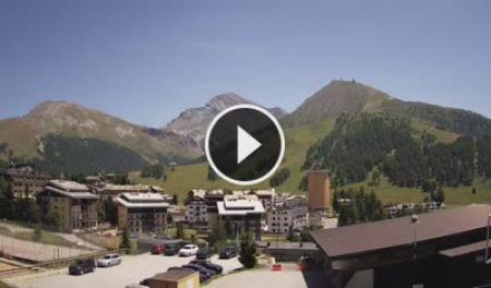 Webcam Sestriere, Via Lattea - Skyline Webcams