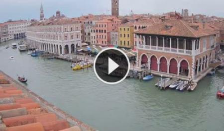 Webcam Venezia, Canal Grande - Skyline Webcams