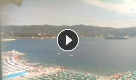 Webcam Santa Margherita Ligure, Spiaggia - Skyline Webcams