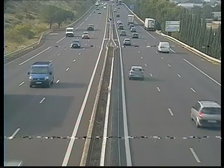 webcam ved ne a7 au nord d 39 avignon vue orient e vers le sud. Black Bedroom Furniture Sets. Home Design Ideas