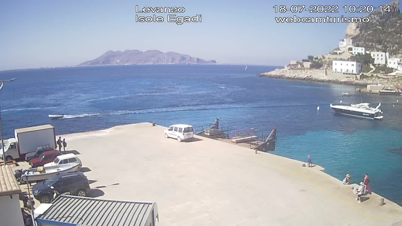 Webcam Favignana, Levanzo - Webcam Turismo