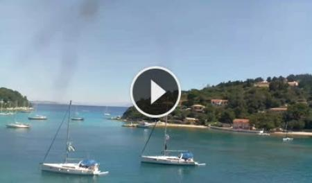 Romania Live  White House Apartment Lakka live webcam Paxos Island