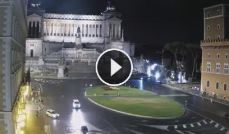 Webcam Roma, Altare della Patria - Skyline Webcams