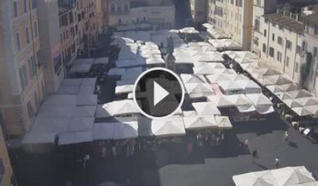 Webcam Roma, Campo de´ Fiori - Skyline Webcams