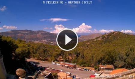 Webcam Palermo, Monte Pellegrino - Skyline Webcams
