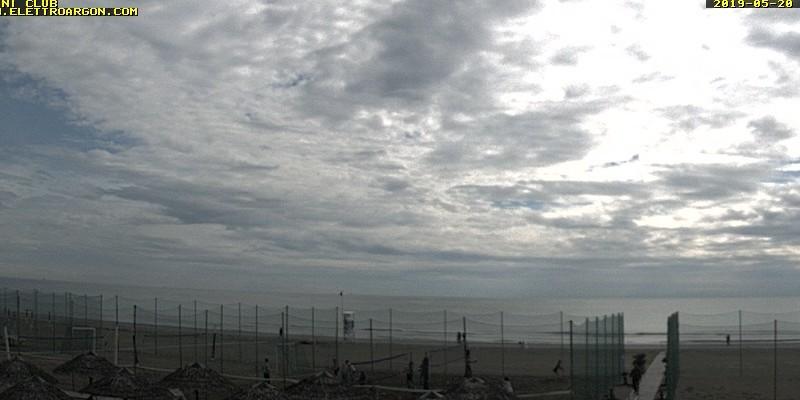 Webcam Cervia: Beach of the Fantini Club Cervia