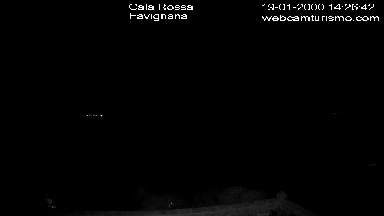 Webcam Favignana, Cala Rossa - Webcam Turismo