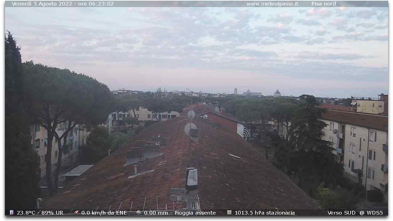 Webcam pisa view towards leaning tower cathedral baptistery - Webcam bagno gioiello ...