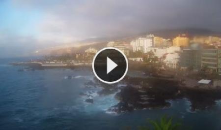 Live webcam puerto de la cruz teneriffa playa san telmo - Puerto de la cruz webcam ...