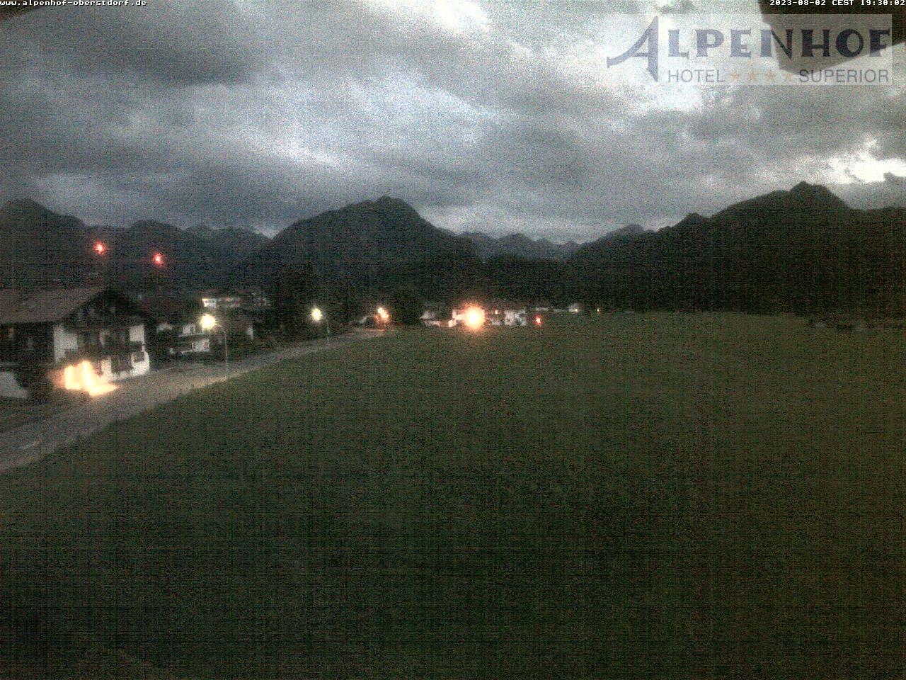 Live Webcam Oberstdorf: Hotel Alpenhof - Oberstdorf Karte Deutschland