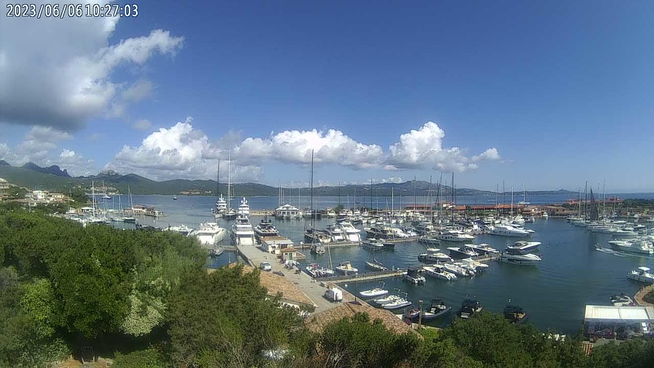 Webcam Olbia, Porto Rotondo - Molo 7 Real Estate