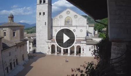 Webcam Spoleto, Ponte delle Torri - Skyline Webcams